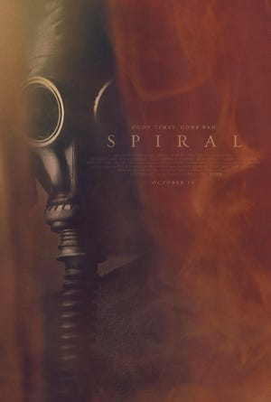 The poster for 'Spiral.' Provided by Joe Clarke.