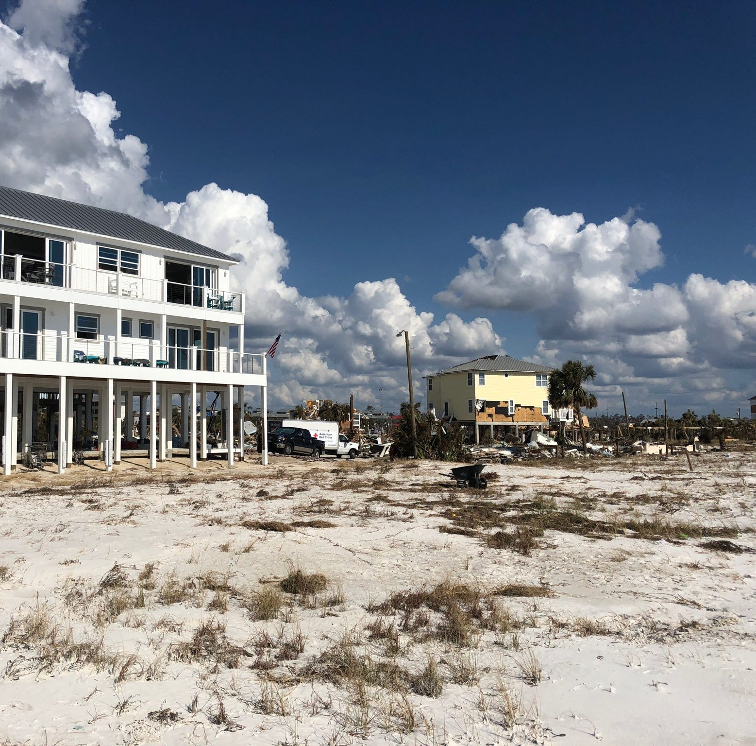 Florida house stands like a fortress amid Hurricane Michael's destruction