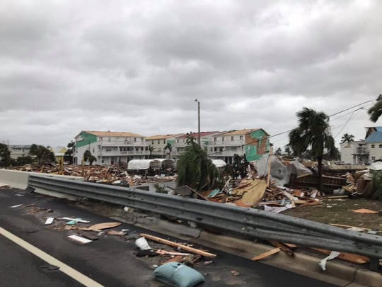 Hurricane Michael tore through the Florida panhandle. Most storms veer off into the Caribbean before hitting this area.