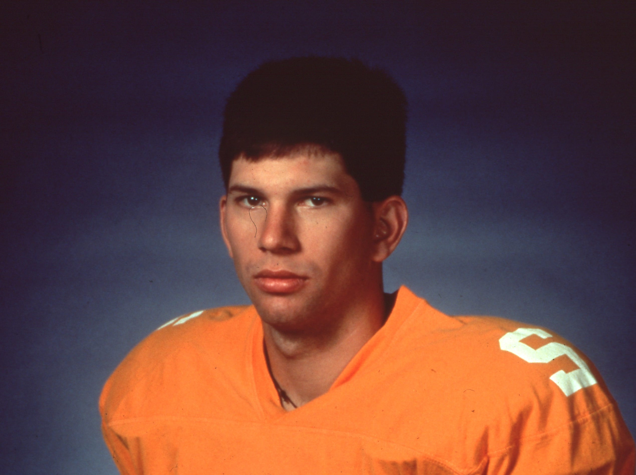 Tennessee quarterback Todd Helton as seen on August 9, 1996.