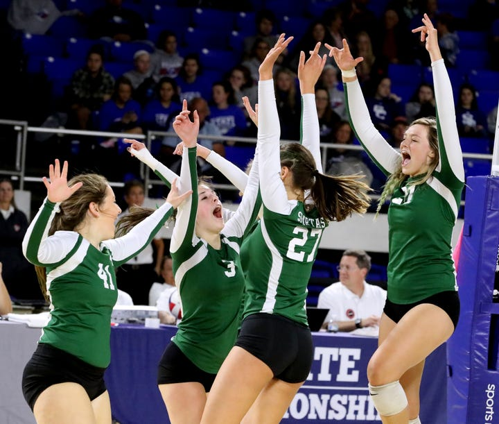 Webb wins sixth straight Division II-A volleyball championship