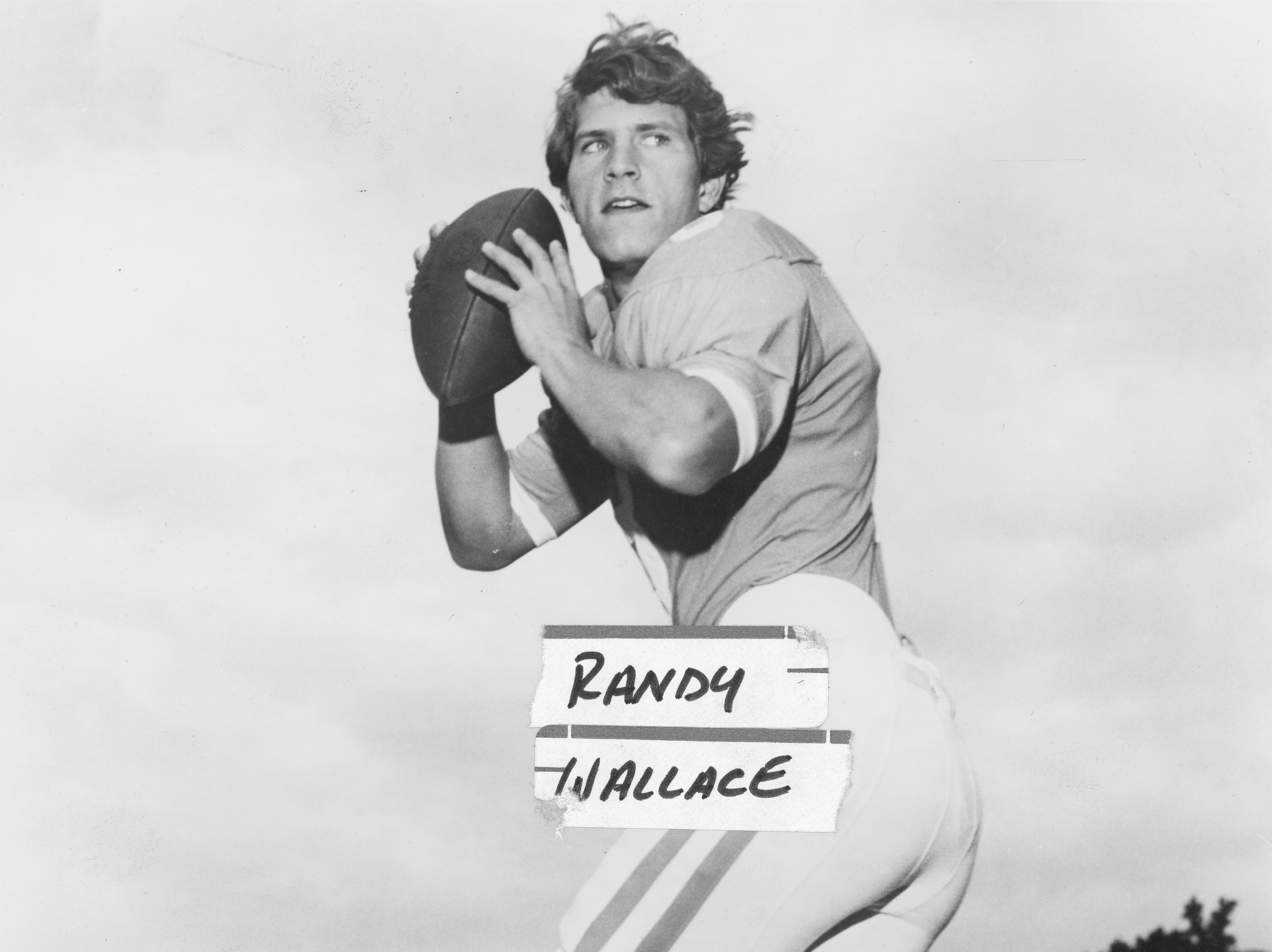 Tennessee Vols quarterback Randy Wallace on September 17, 1974.