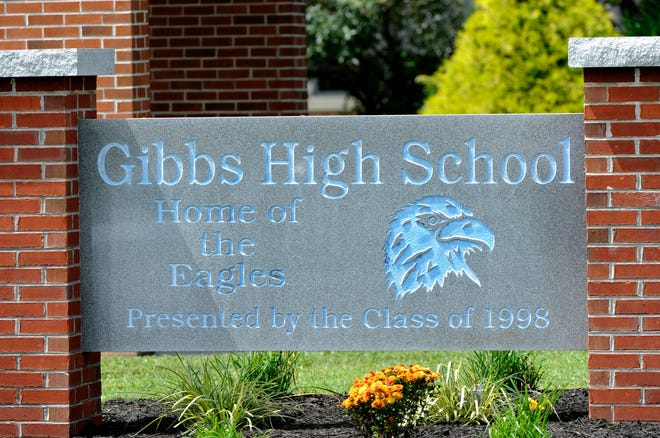Gibbs High School Wednesday, Aug. 20, 2014.