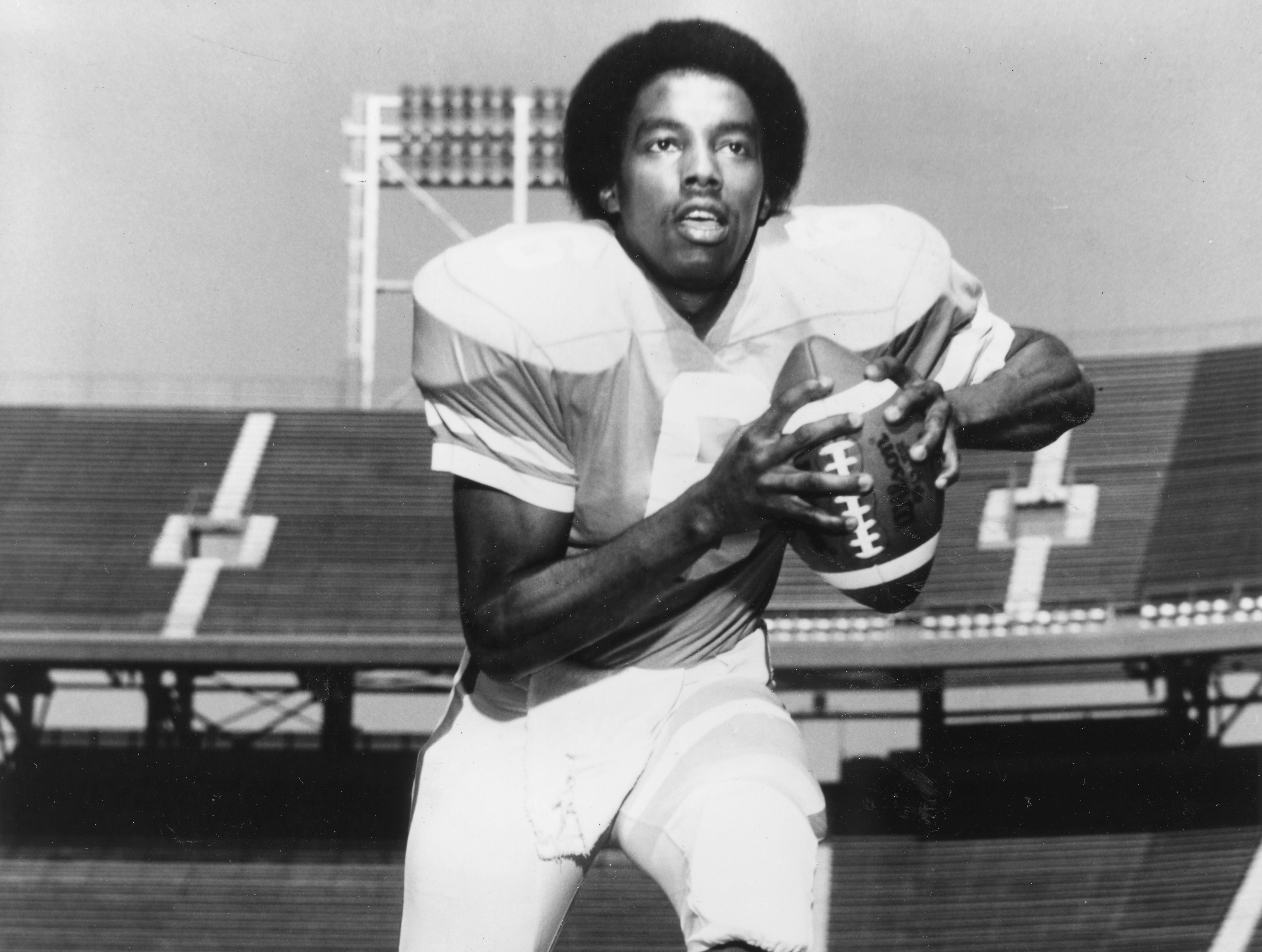 Tennessee Vols quarterback Jimmy Streater on November 7, 1978.