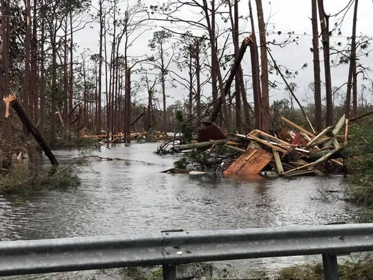Mexico Beach is one of many cities throughout Florida, Alabama and Georgia that will be left to rebuild after Hurricane Michael caused an estimated $25 billion in damage.