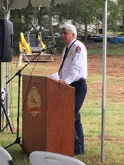 Rural Metro Fire Chief Jerry Harnish