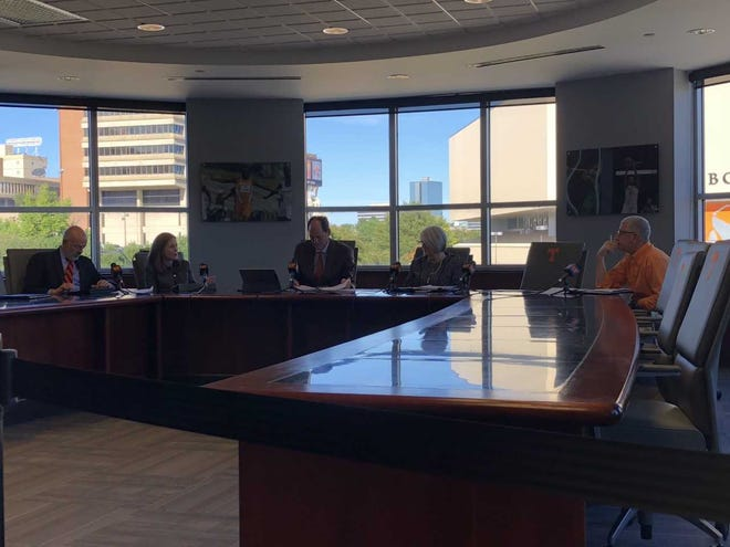The University of Tennessee Board of Trustees Executive Committee met on Thursday to appoint two new trustees. One is a non-voting student trustee and another is a faculty trustee on the Education, Research and Service Committee.
