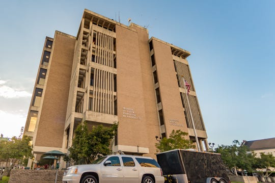 The Lafayette Parish courthouse is shown in this Oct. 3, 2018, Advertiser file photo.