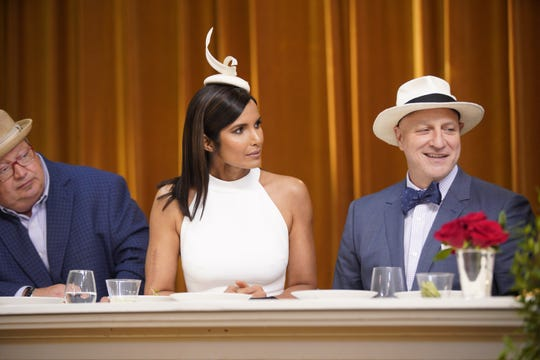 """Chefs on the set of the first episode of """"Top Chef"""" season 16."""