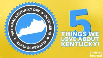 It's National Kentucky Day and here are the top five things we love about the Bluegrass state!