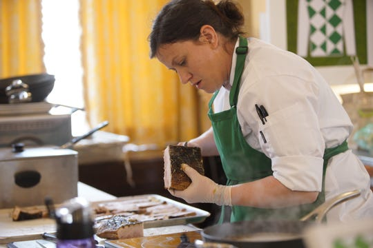 """Sara Bradley of Paducah, Kentucky competes on the first episode of """"Top Chef"""" season 16."""