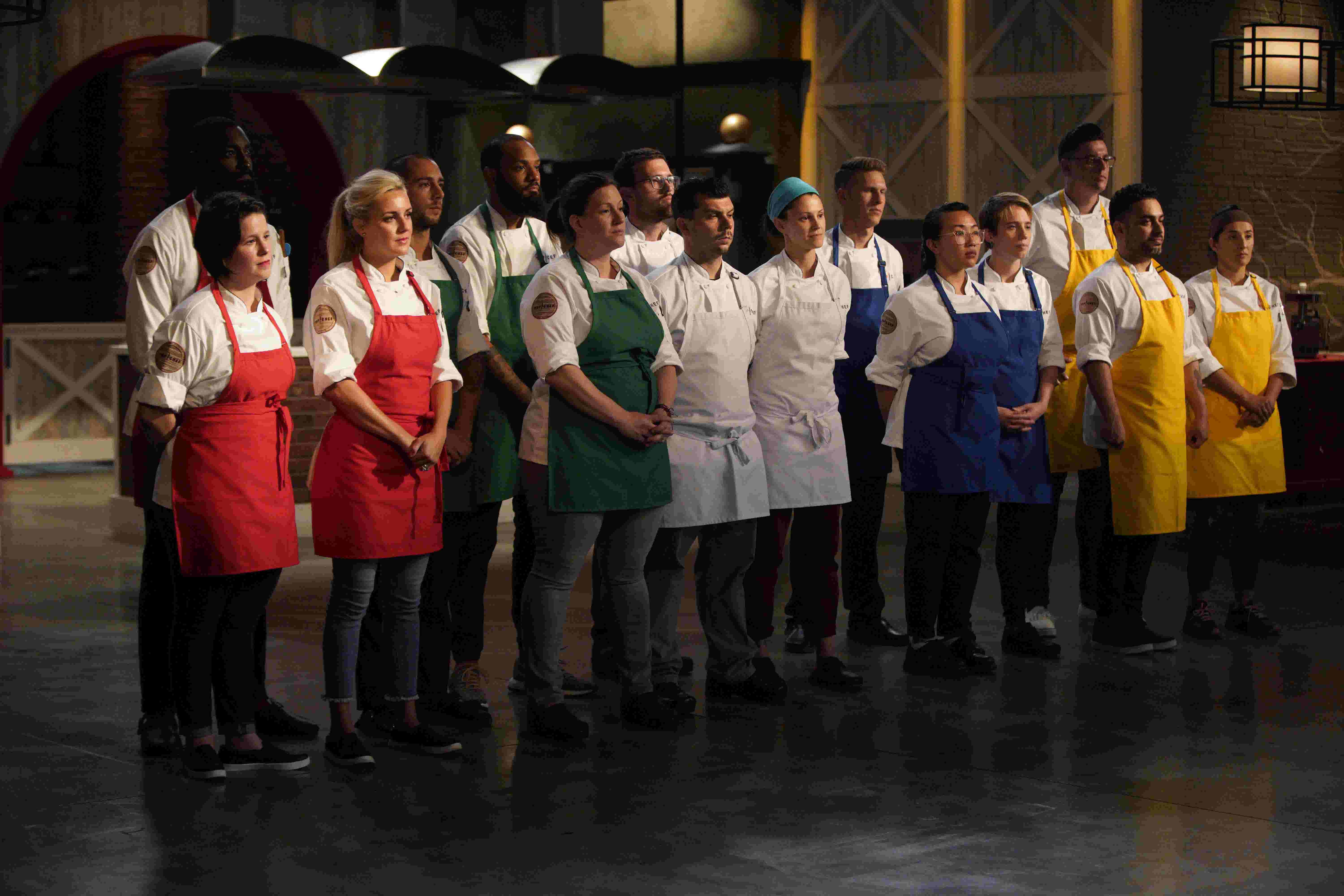 top chef season 16 food review of episode 1