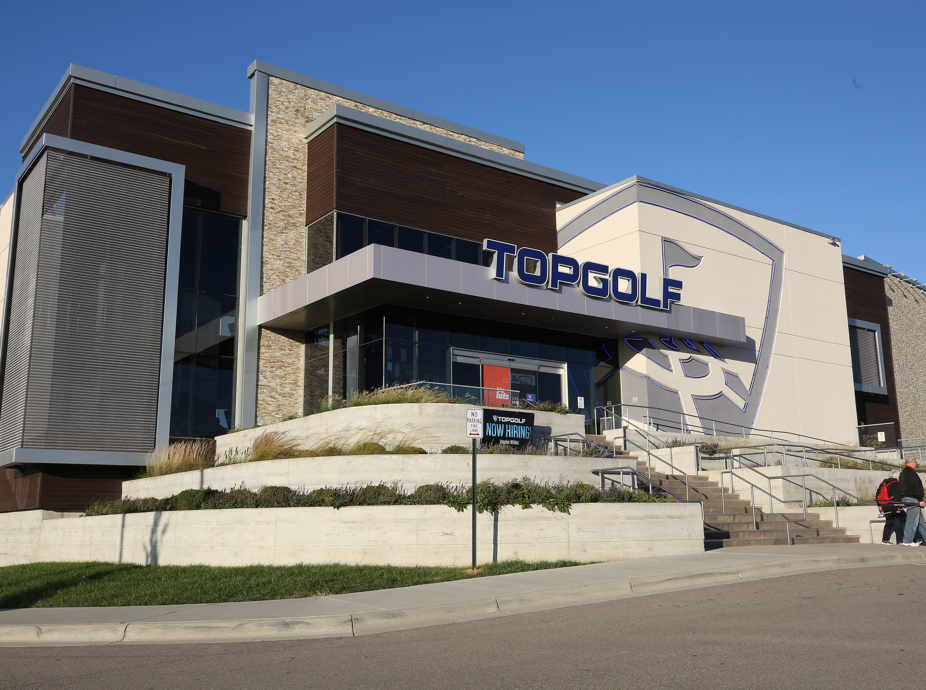 The Topgolf outside of Cincinnati, Ohio.  Topgolf is proposing to build a facility at the Oxmoor Center in Louisville as they wait for a decision by the Metro planning commission. 