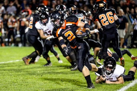 Brant Bohman and the Marshfield football team head into the start of the WIAA postseason Friday with a No. 1 seed in Division 2. The undefeated Tigers host Ashwaubenon.
