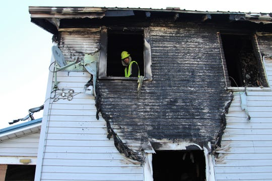 It is unknown what caused the fire at this time.However, Marion Fire Captain Wade Ralph said they believe that the fire started on the ground floor.