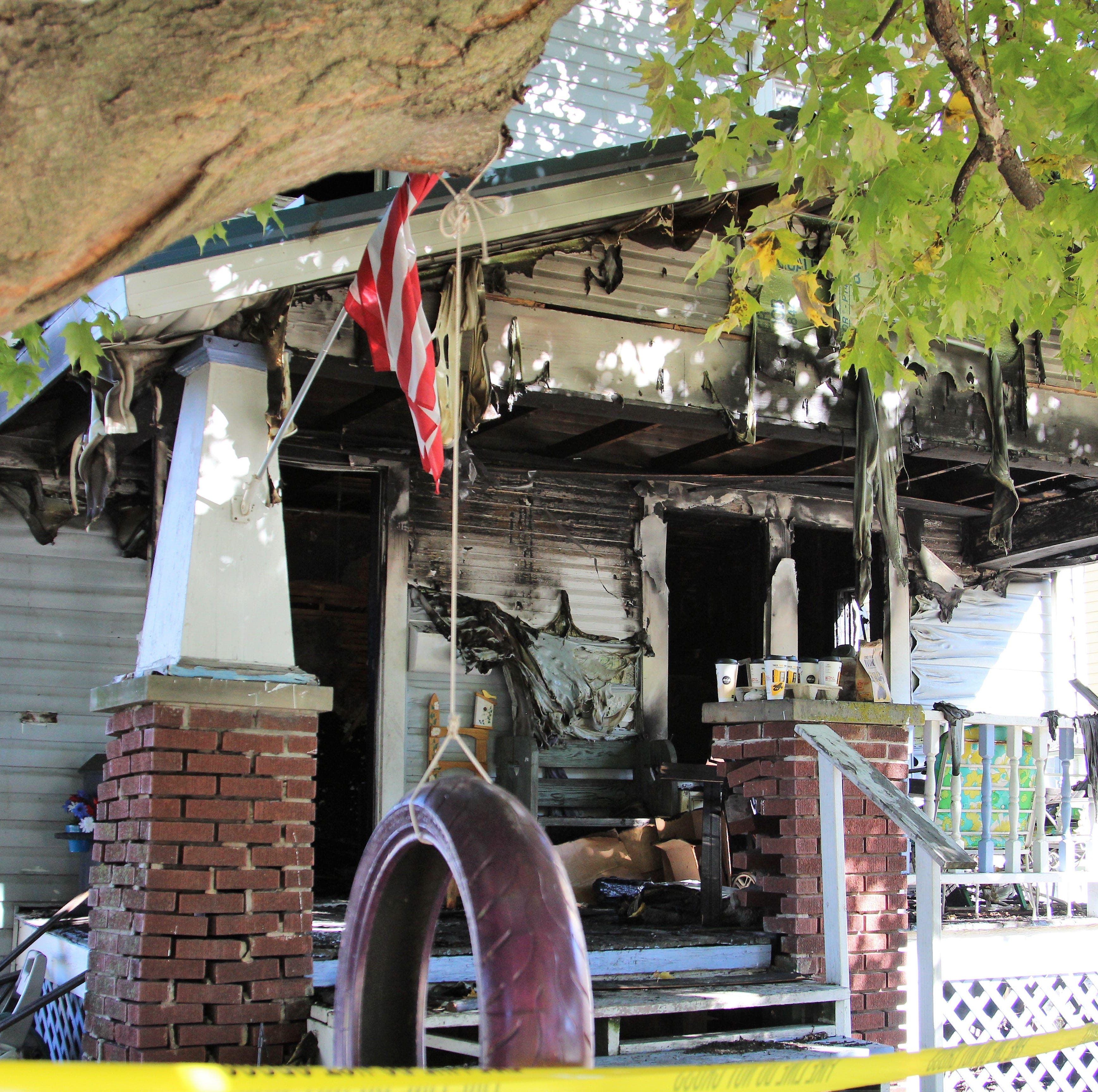 An early morning blaze on East Fairground Street claimed the lives of a 61-year-old woman and a 4-year-old boy.