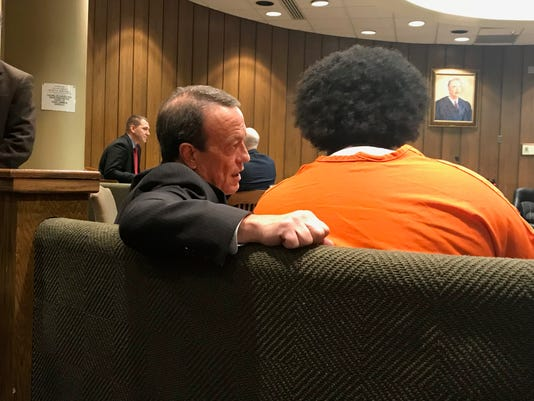 Attorney Craig Morton With Shanynthia Gardner