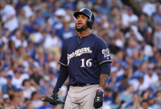 League Championship Series Milwaukee Brewers V Los Angeles Dodgers Game Five