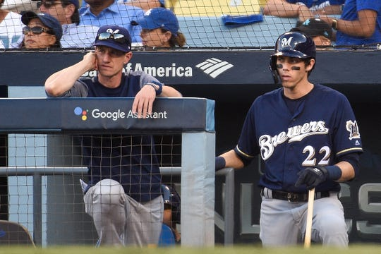 Craig Counsell and Christian Yelich will learn if they are postseason award winners next week.