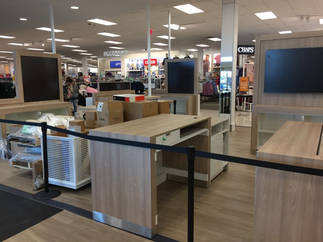 "Fixtures for an Amazon ""smart home"" shop have been delivered to the Kohl's department store in Grafton. The Amazon shop is expected to open by the end of the month, expanding Kohl's year-old partnership with the rival retailer."
