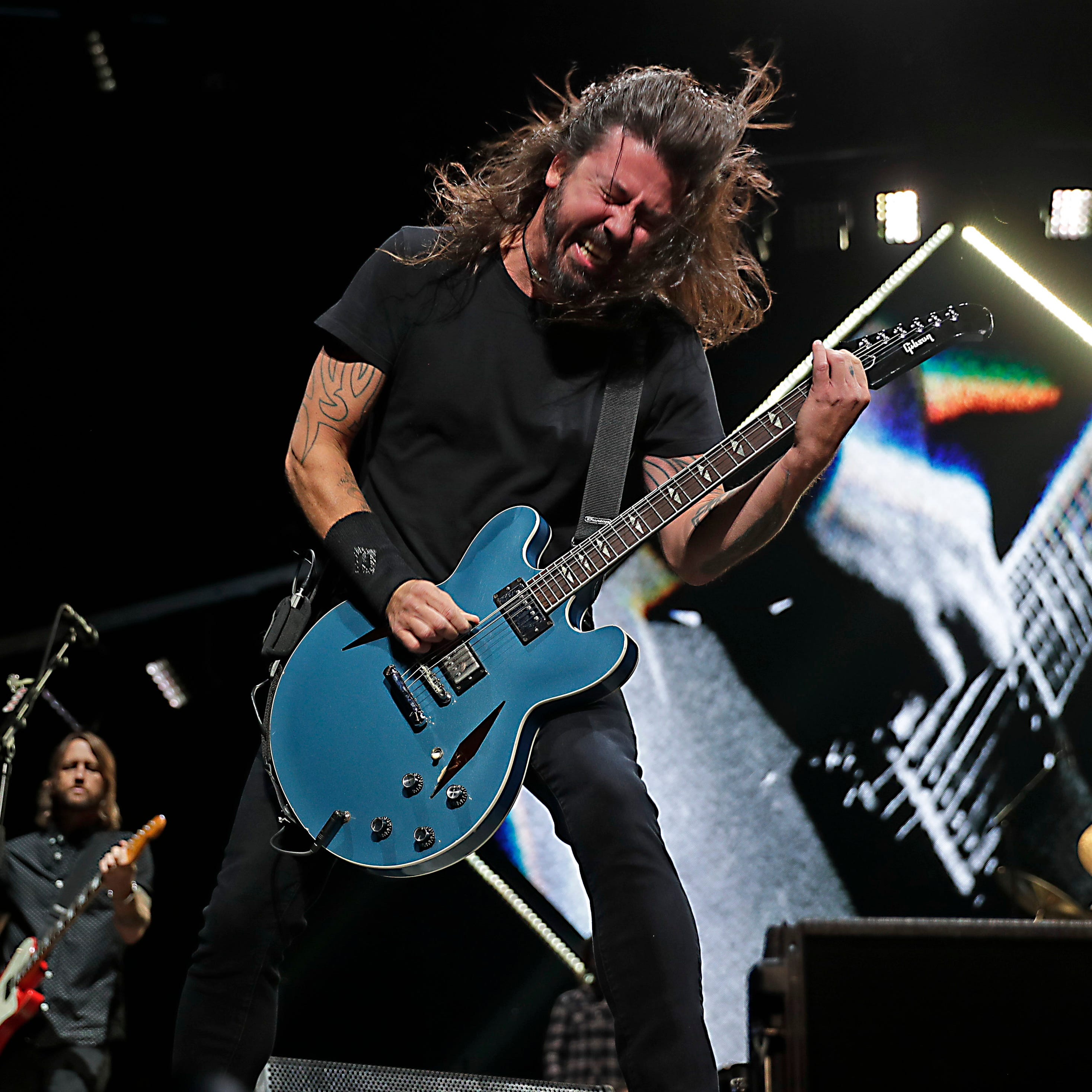 Foo Fighters honor their legacy, and Tom Petty, at fiery Fiserv Forum show in Milwaukee