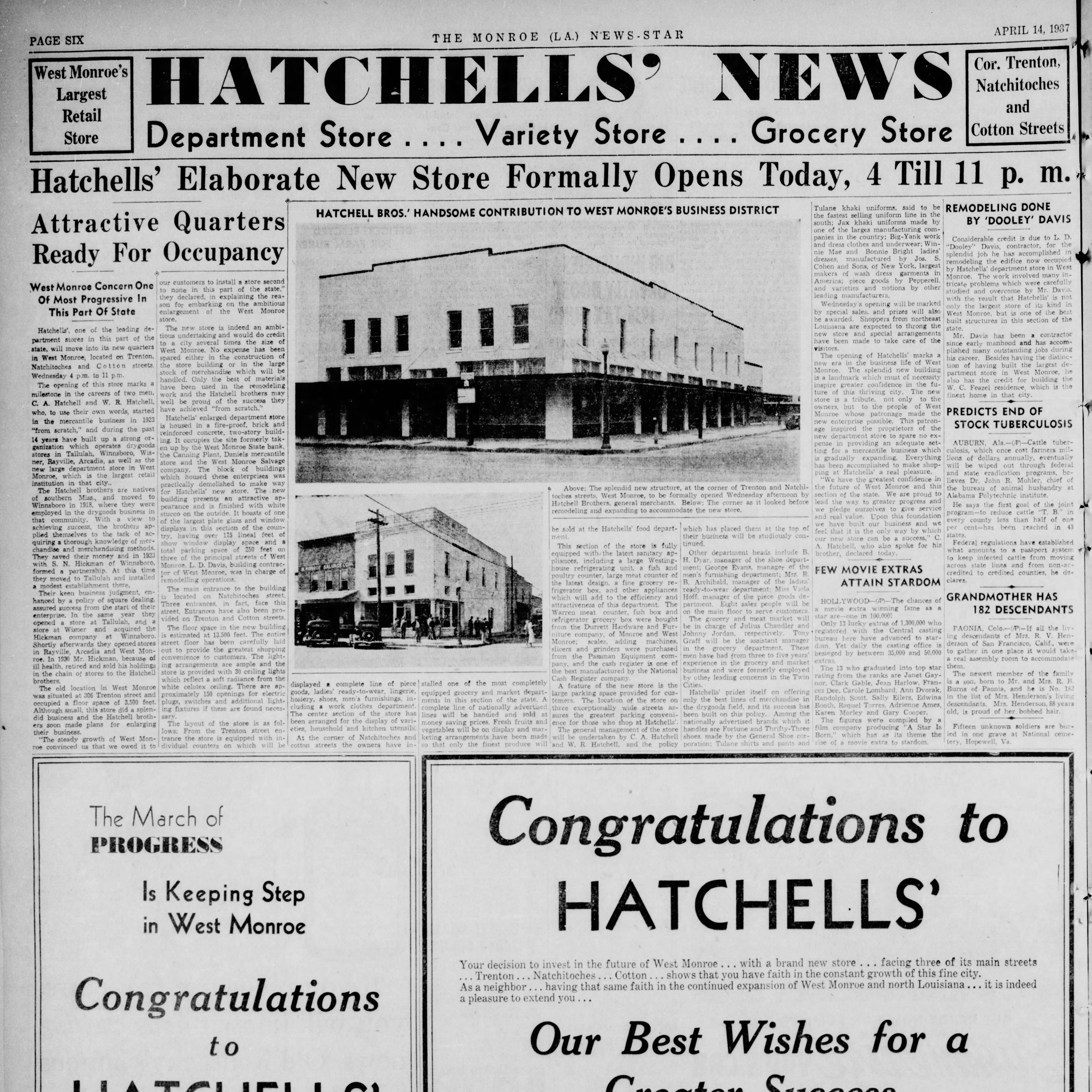 Project will transform old Hatchells' building in West Monroe
