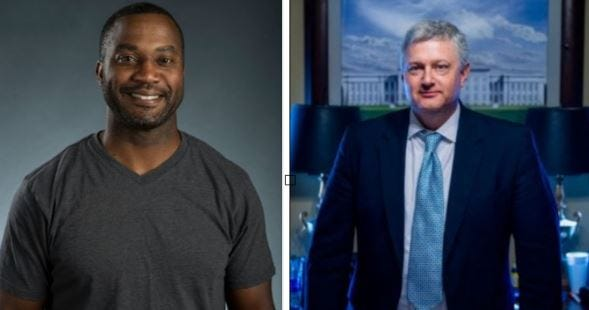 David Sadler (left) and Will Barfoot (right) will compete for the State Senate District 25 seat in November's midterm election.