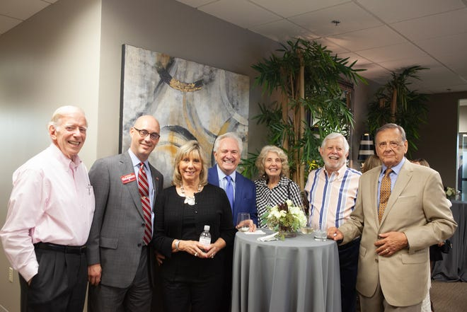 Hendersonville celebrated an open house at the new location of Bone McAllester Norton PLLC at Bluegrass Commons II.