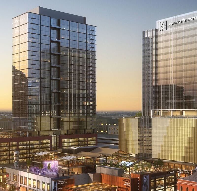 Wall Street's AllianceBernstein signs lease for new downtown Nashville offices