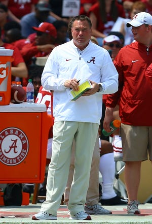 Former Tennessee coach Butch Jones is now an analyst for Alabama.