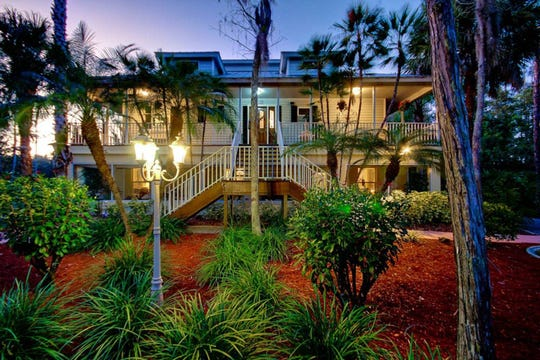 The No. 1 wish listed Airbnb rental in Lee County is this two-story home nestled in a private cypress reserve that is walking distance to the Six Mile Cypress Slough.