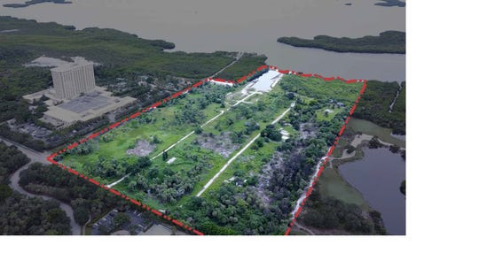 The former Weeks Fish Camp property sits north of the Hyatt Regency Coconut Point Resort and Spa along Estero Bay.
