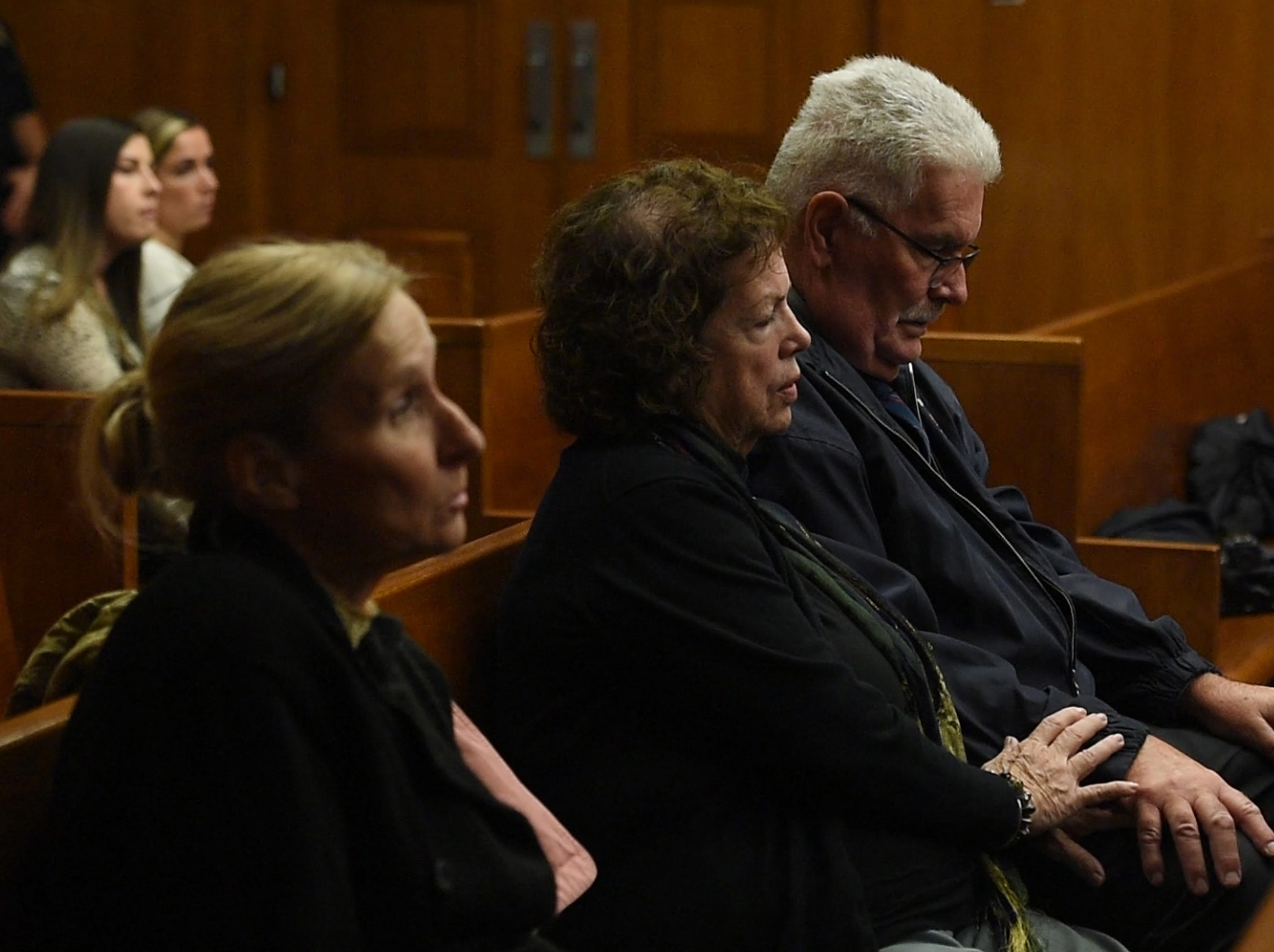 Jared Clackner, of Denville, is on trial in Bergen County Superior Court for killing his friend William Henning after a ZZ Top concert in 2015. Clackner is charged with aggravated manslaughter in the death of Henning. Family and friends of William Henning listen to testimony from former Asst. Bergen County Medical Examiner Dr. Jennifer Swartz on Wednesday, October 17, 2018. Swartz performed the autopsy on Henning in March 2015.