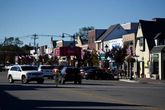 Downtown Denville on Thursday, Oct. 18, 2018.