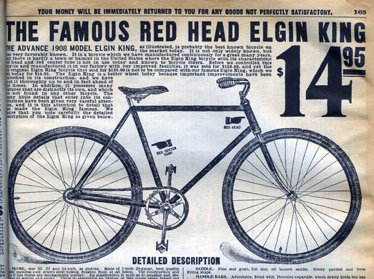 Not everything changes with time. Bicycles, back then, were pretty much like bicycles now