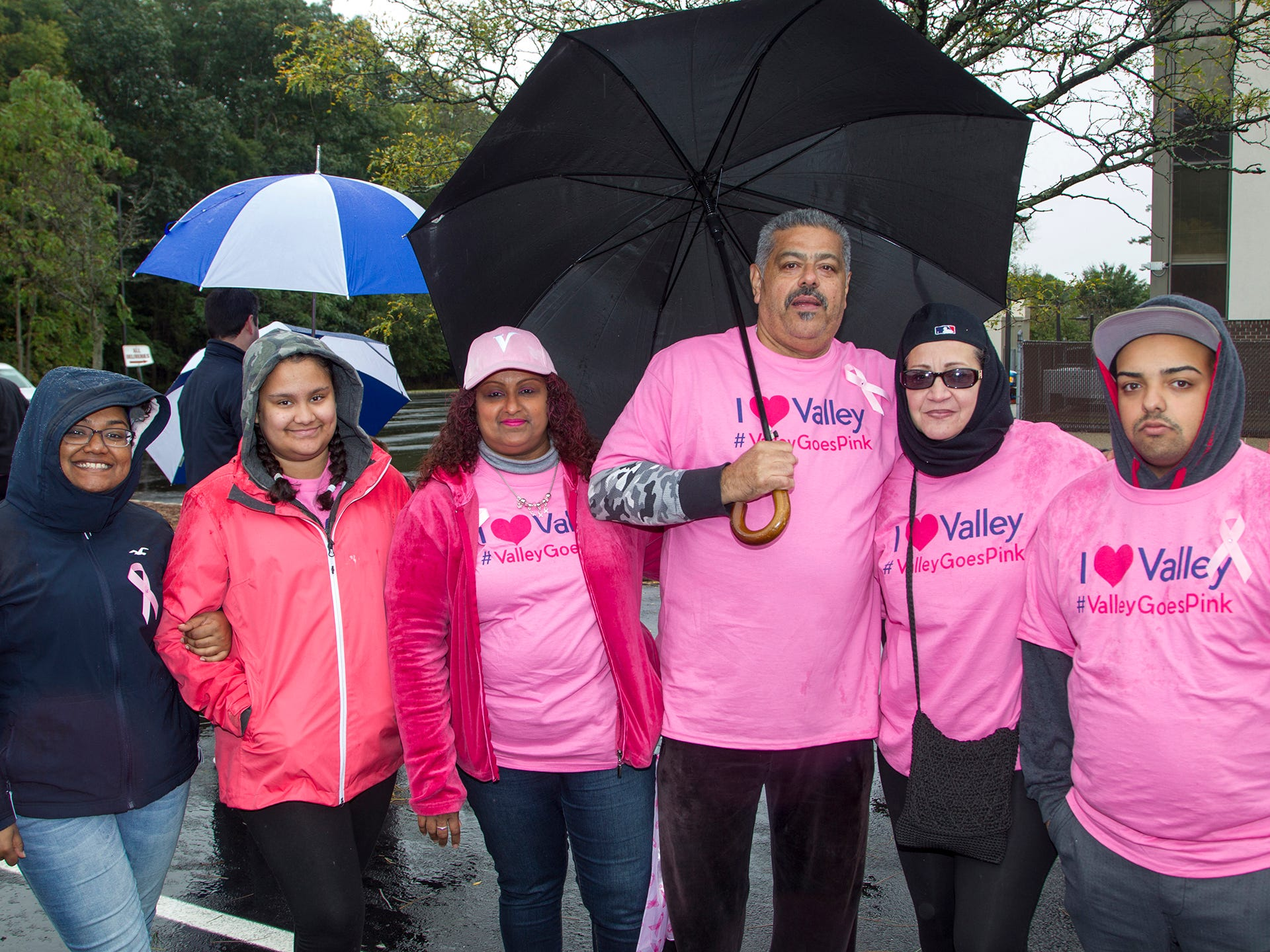 Thje Melendez family. Valley National Bank held its 10th annual Breast Cancer Walk in Wayne. 10/13/2018