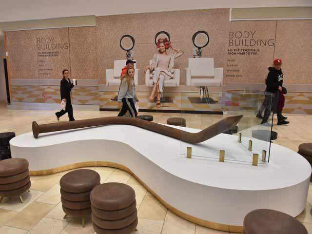 Garden State Plaza Mall Becomes Home Of Art For The Mes