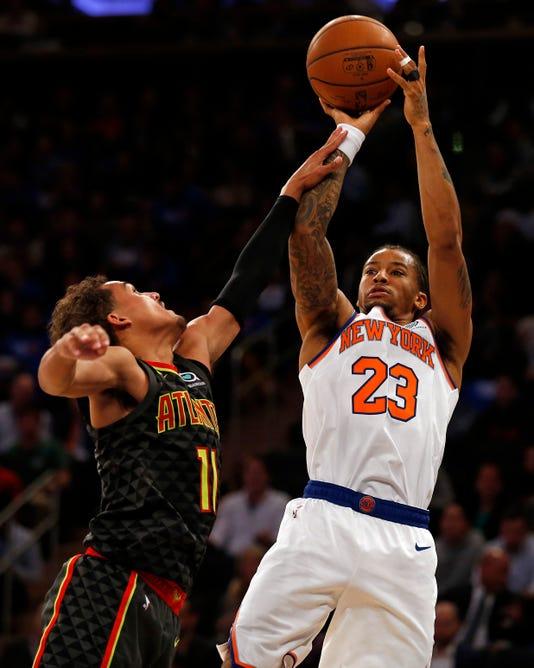 Nba Atlanta Hawks At New York Knicks