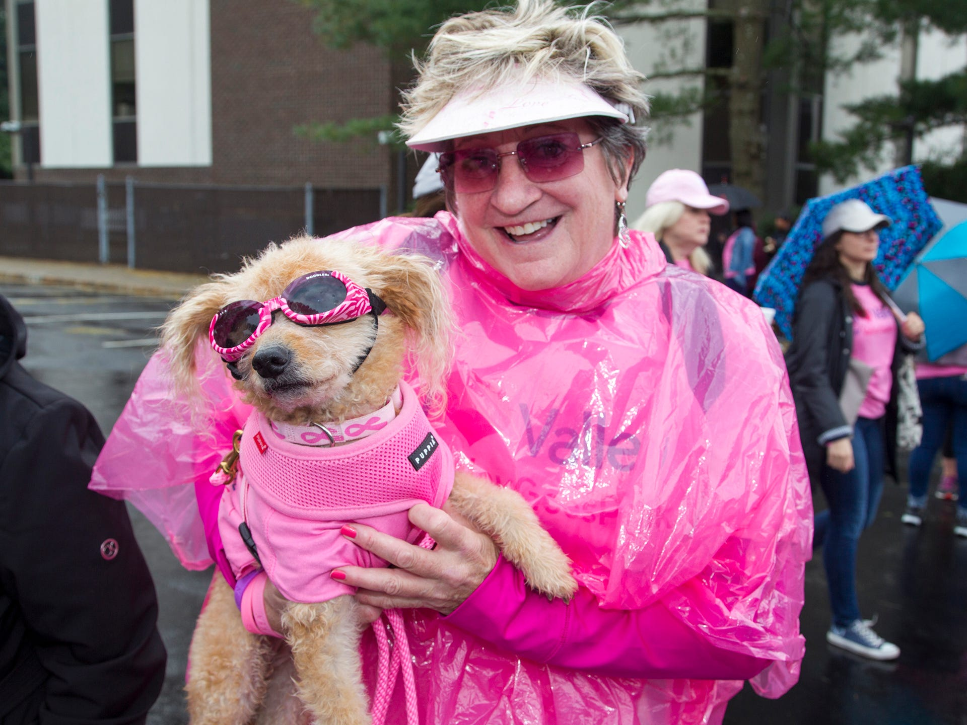 Sophie and Pam Werner. Valley National Bank held its 10th annual Breast Cancer Walk in Wayne. 10/13/2018