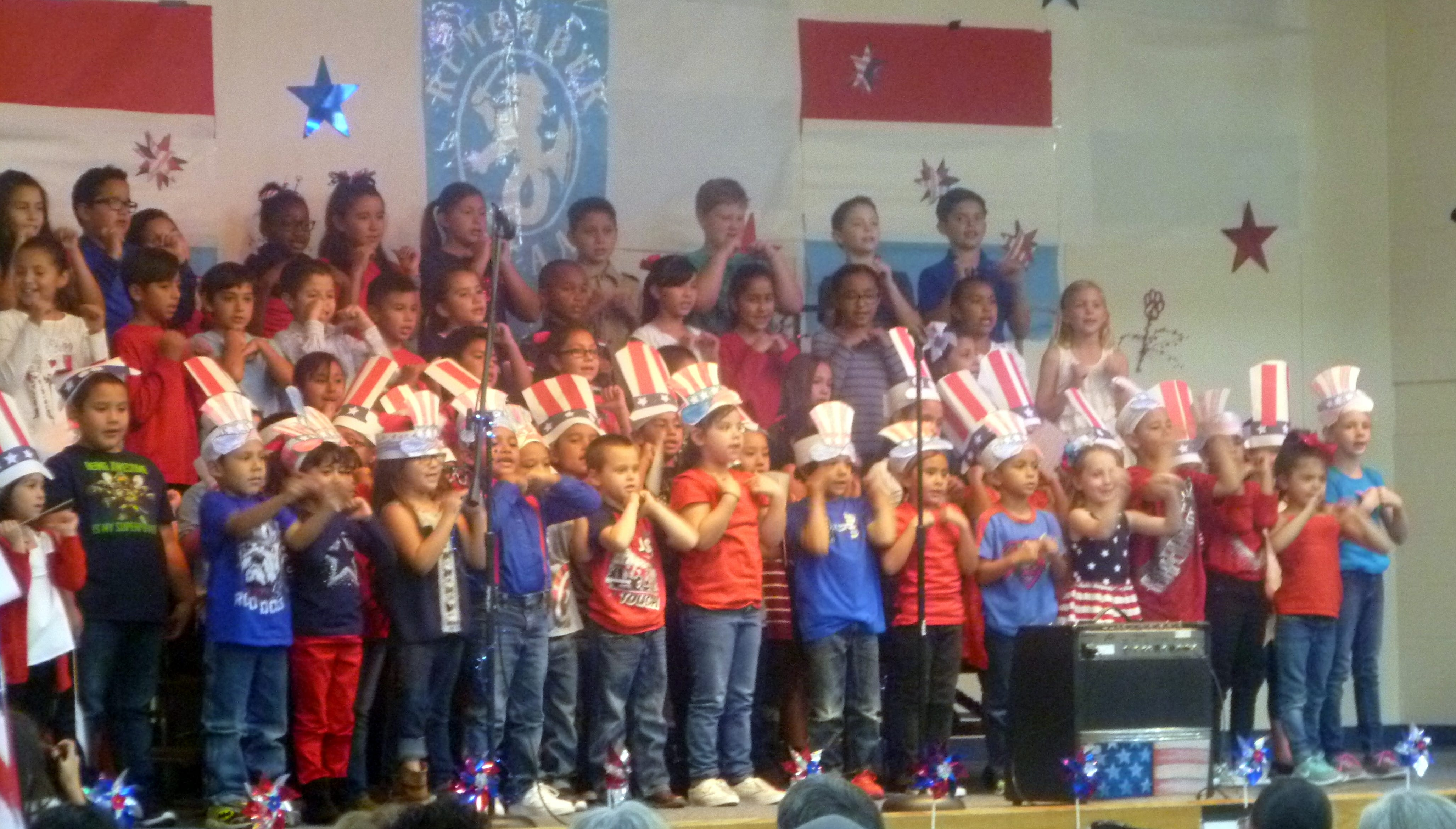 """Bataan Elementary School students will host its annual Veterans Day program at 10 a.m. on Friday, Nov.9in the gym. Veterans and community members are invited to the program.A PowerPoint presentation will be shown during the program. """"We would like to include pictures of veterans in our community on the PowerPoint,"""" said Kim Perea, one of the program's organizers. """"Anyone wishing to have their picture or loved one's picture included in the PowerPoint, may bring a picture by the school or email it to kim.perea@demingps.org. Please be sure to include the first and last name of the veteran.We need the pictures by Wednesday, October 24. Come join Bataan Elementary students as they pay tribute to our veterans."""""""
