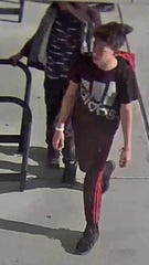 A still image captured from surveillance video.