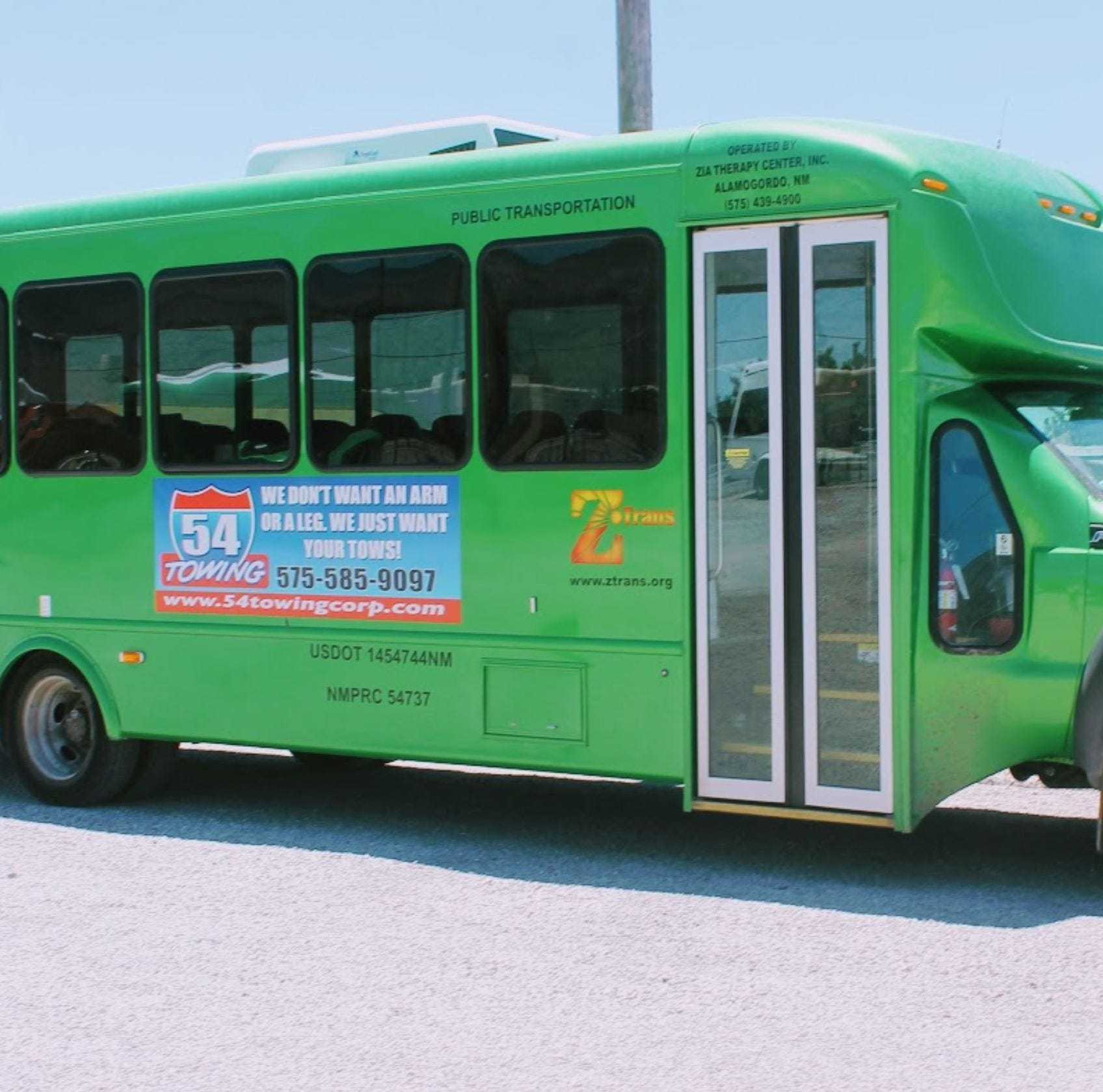 Target date for Z-Trans public transportation Nov. 5