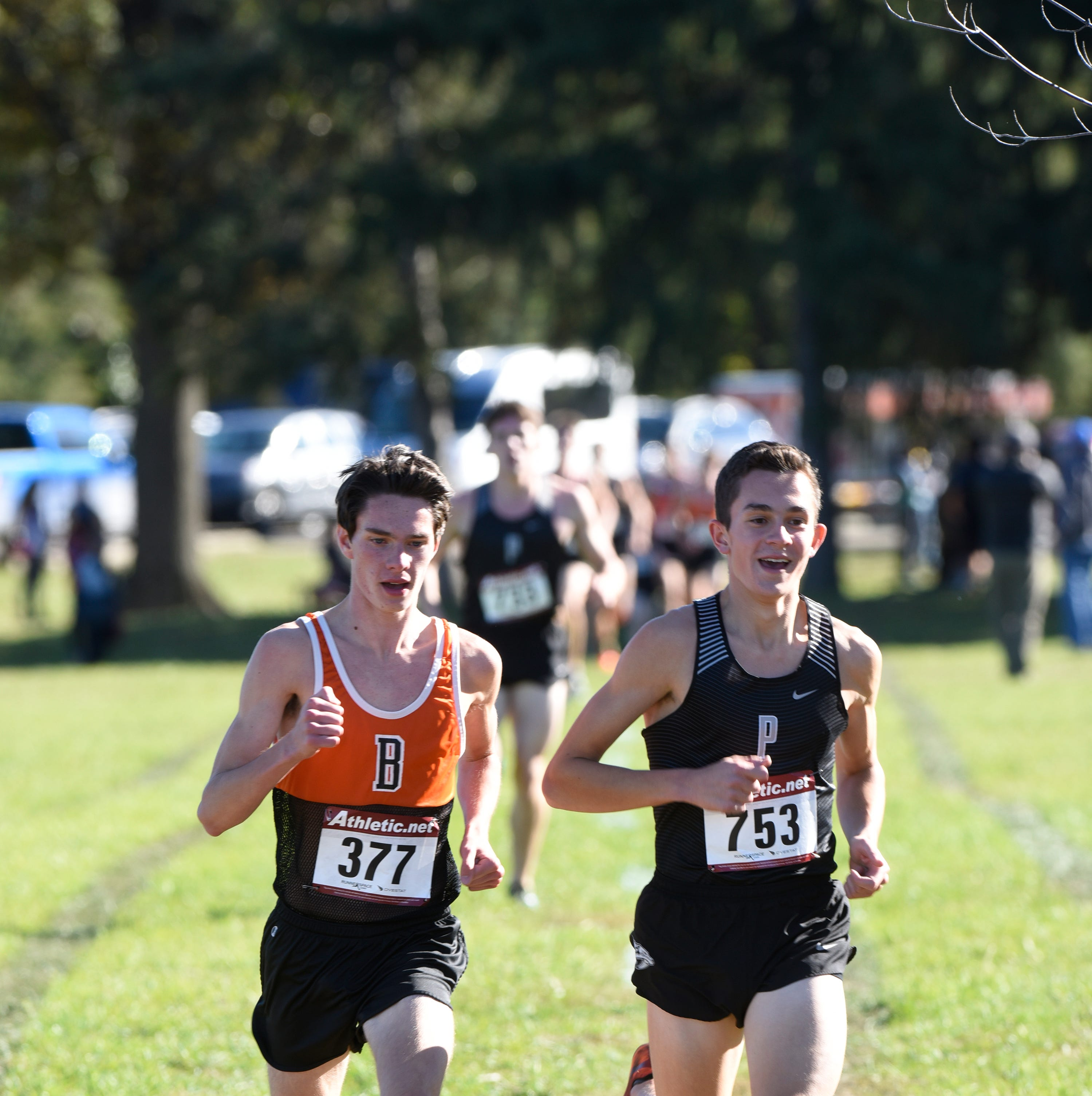 Boys and girls 2018 KLAA Conference Cross Country meet