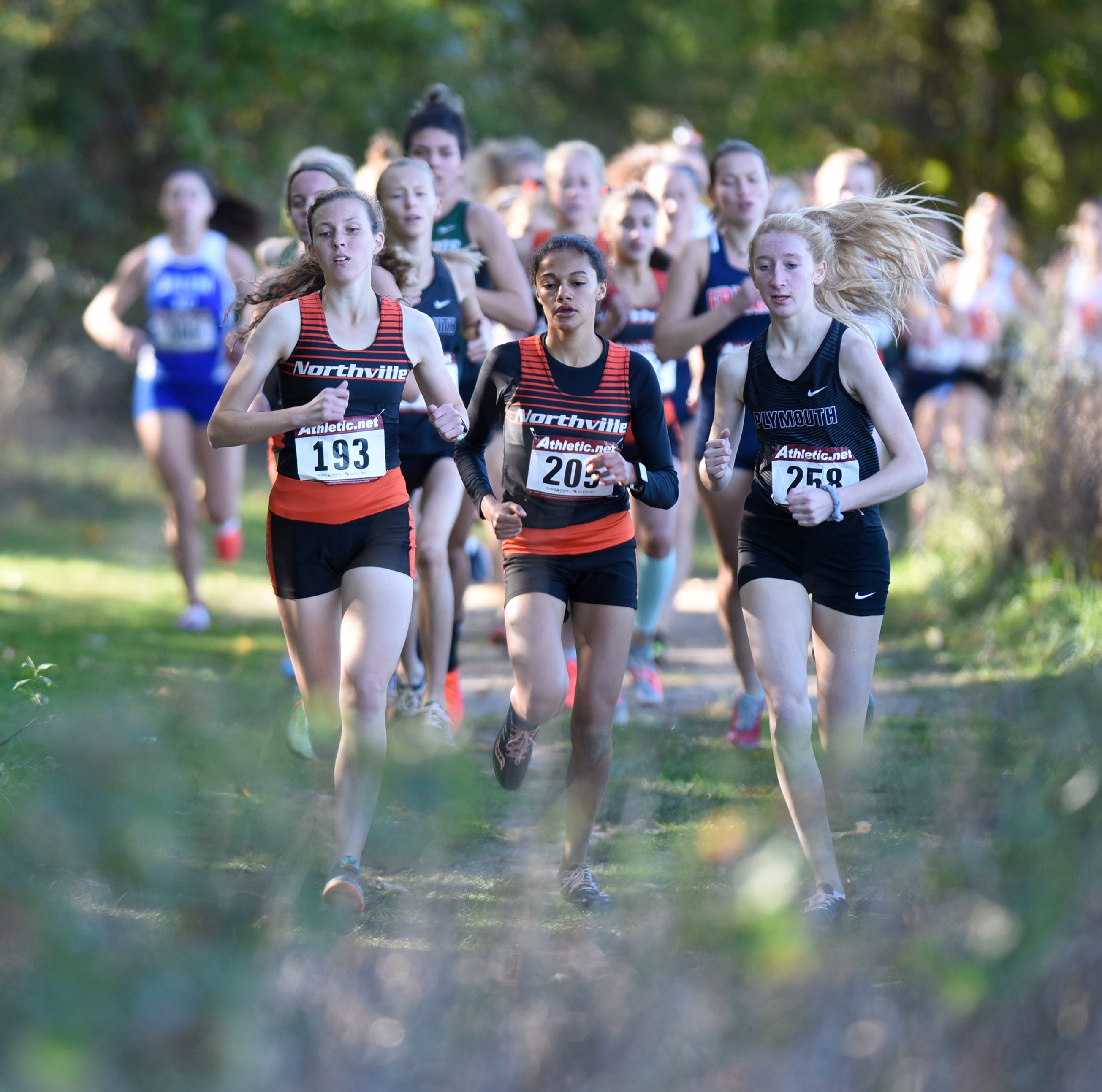 Mansi leads Northville to seventh straight KLAA girls cross country title