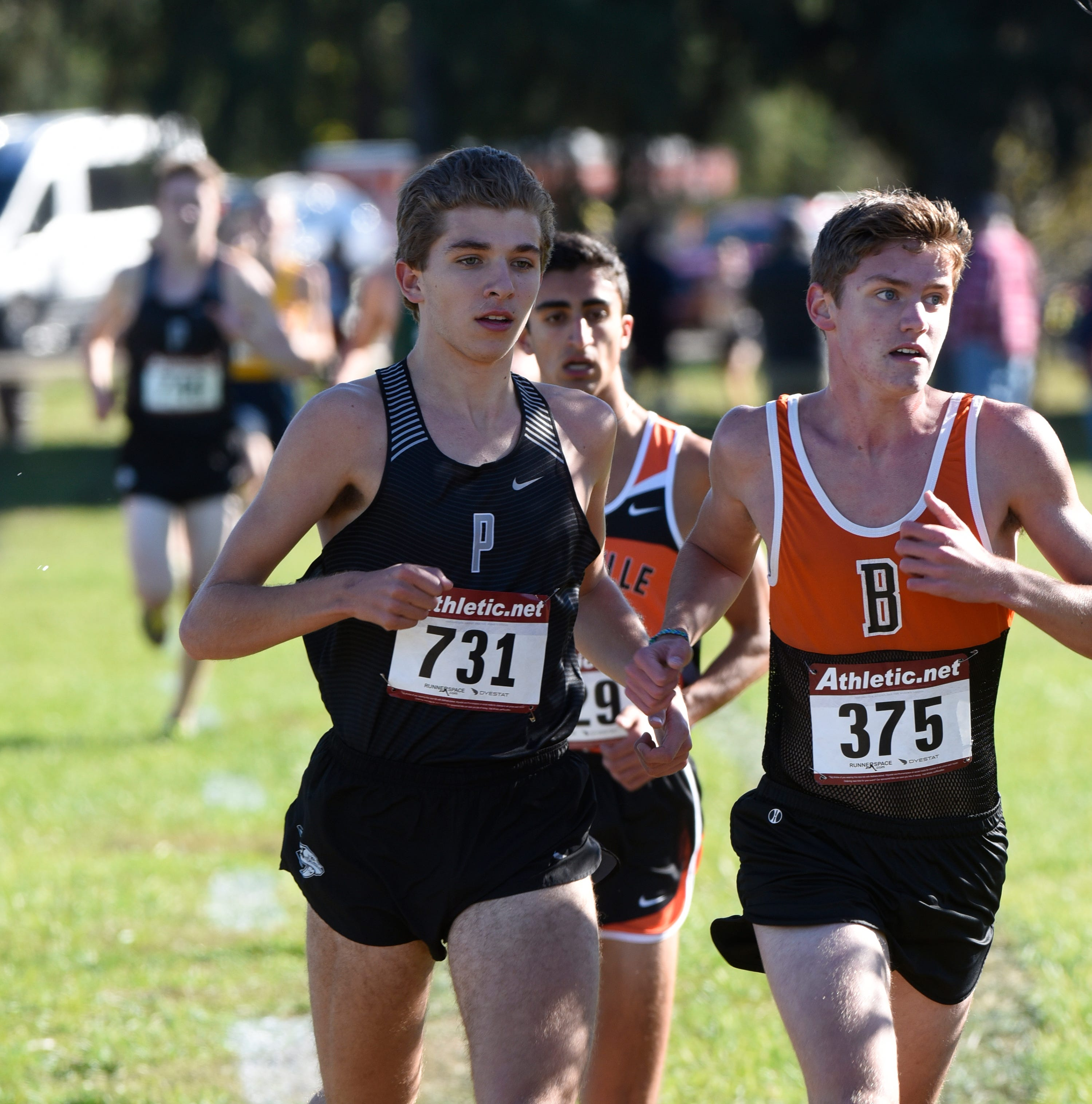 Plymouth pays back Brighton to rule KLAA boys cross country meet