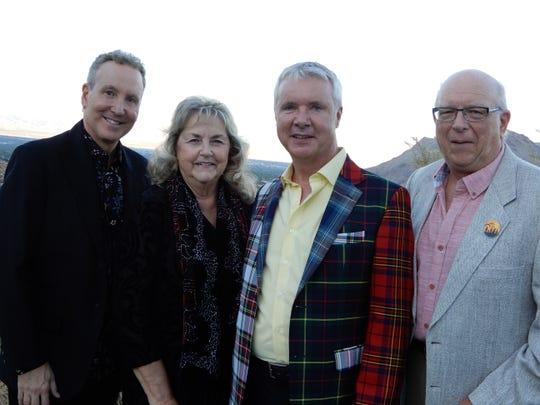 (left to right) Geoff Kors, Karen Cornett, James Williamson, and Richard Clapp
