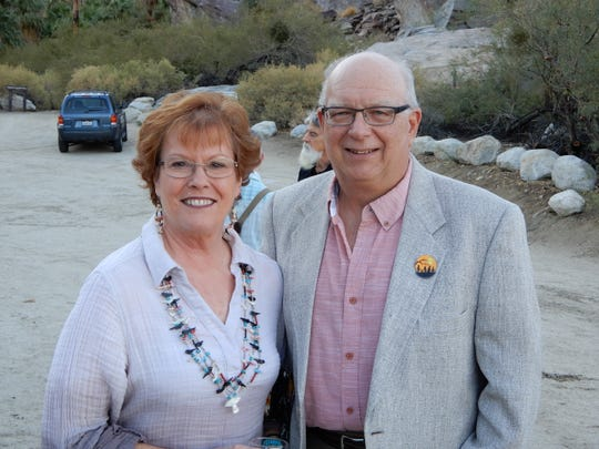 (left to right) Sarah Clapp and Richard Clapp.