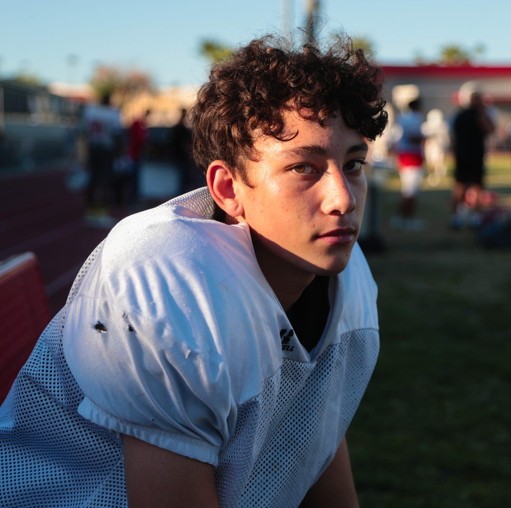 Freshman quarterback leads Palm Springs High School, just like his dad did 20 years ago