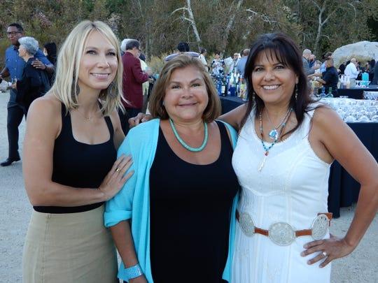 (left to right) Tashana Bednar, Debbie Purnel, Event Sponsor, and Diana Richards.