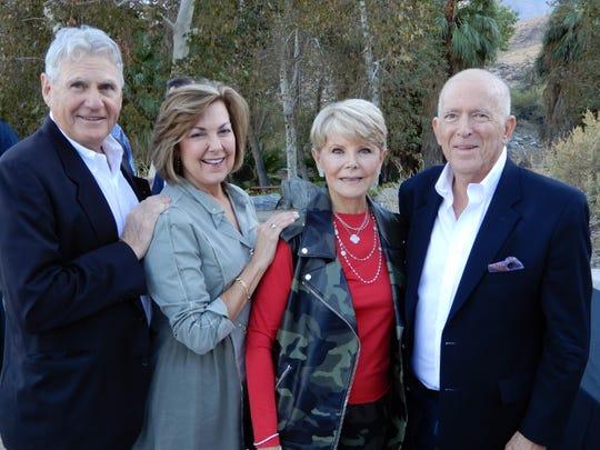 Leroy Wolf, Betty Wolf, Nancy Stone, and Vern Kozlen, Event Sponsor.